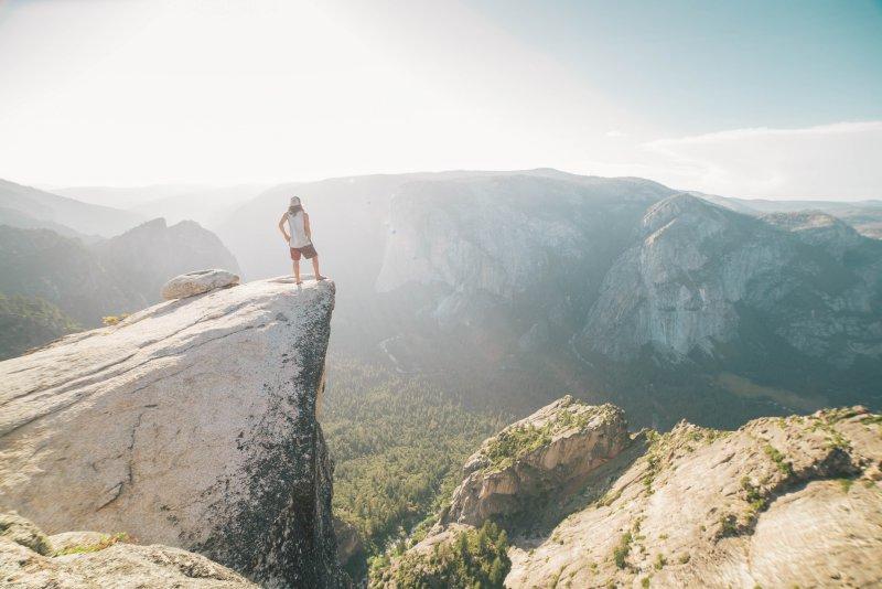 Höhenangst tritt vor allem bei Erwachsenen auf.