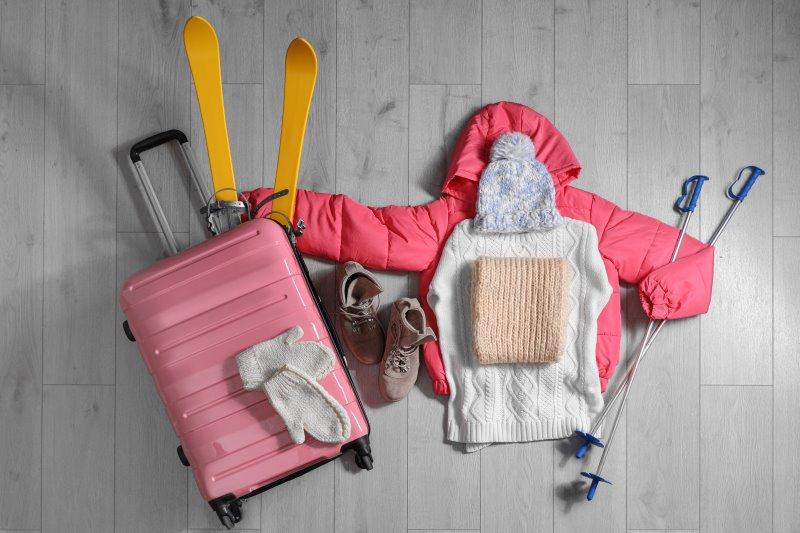 Skiurlaub - richtig Koffer packen