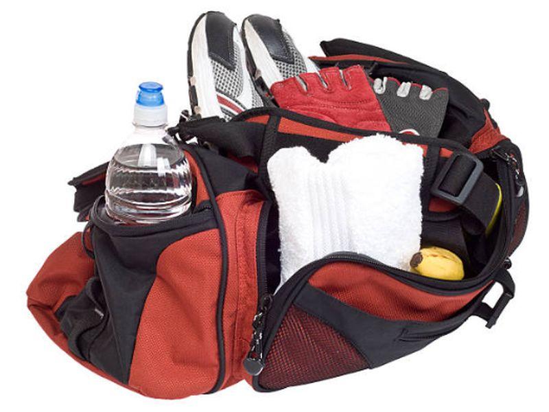 Anforderungen an eine Sporttasche
