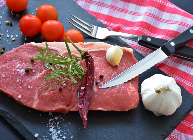 Rohes Stück Fleisch