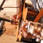 Bild eines Gitarrenspielers