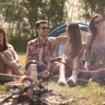 8-Personen Zelt mit Freunden
