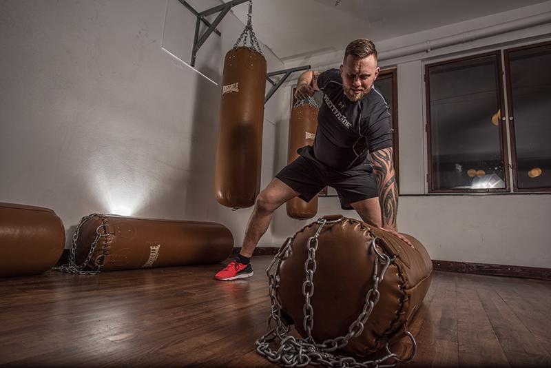 Boxsack als Alternative zum Punchingball