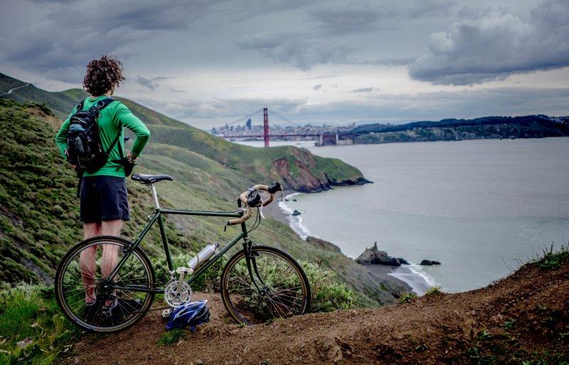 Fahrradfahren bei Regen