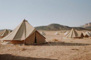 Sahara Zelte test