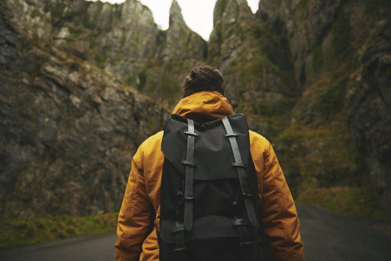 Der Tagesrucksack ist super für Tagestouren beim Wandern geeignet.