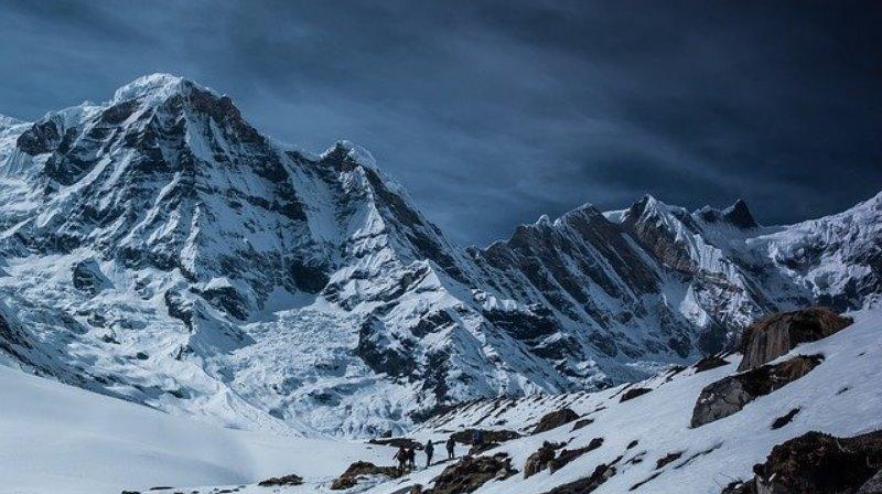 WInterwanderung in den Bergen
