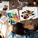 Acrylbilder kreative Ideen