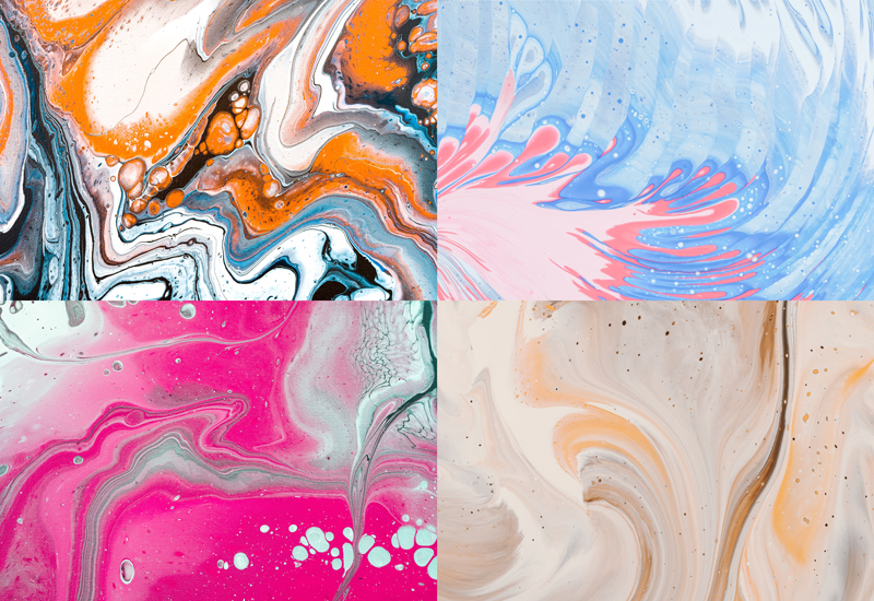 Acrylic Pouring Ideen