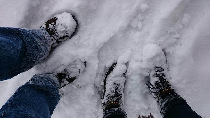 Beheizbare Sohlen im Winter