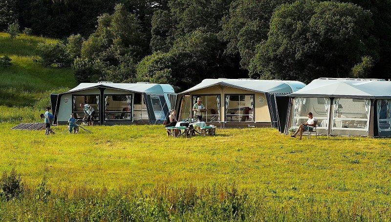 Camping für Anfänger: am Campingplatz