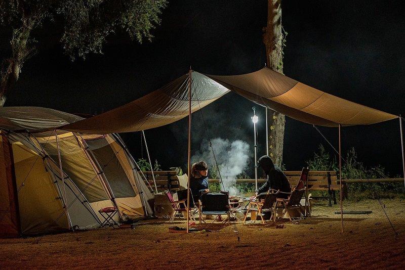 Camping für Anfänger: Zelt
