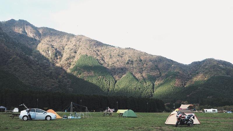 Camping für Anfänger: Zelte am Campingplatz