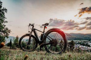 E-Mountainbike in den Bergen