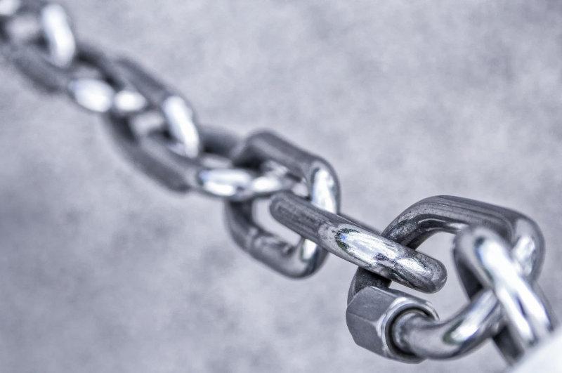 Stabile Eisenkette