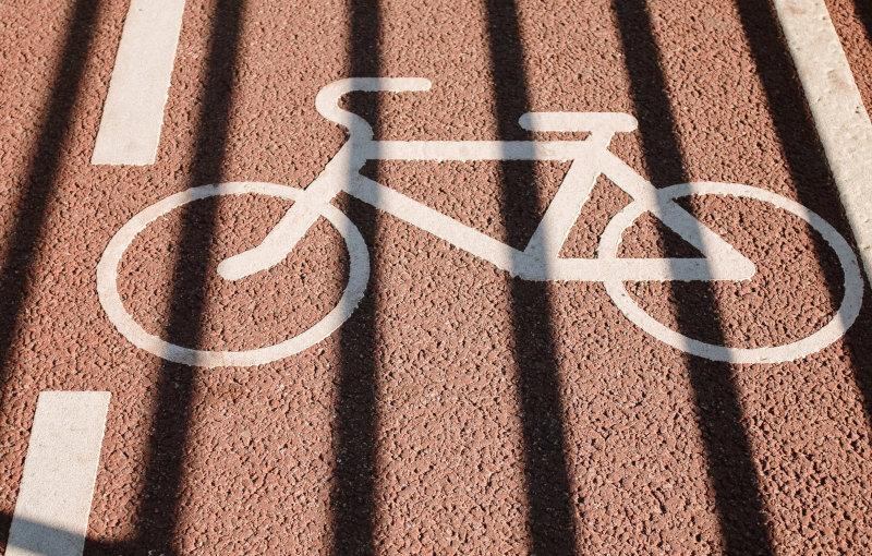 Abbildung Fahrradweg