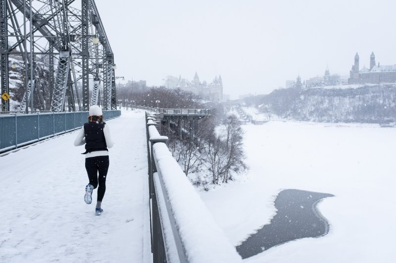 Laufhose für das Laufen im Winter