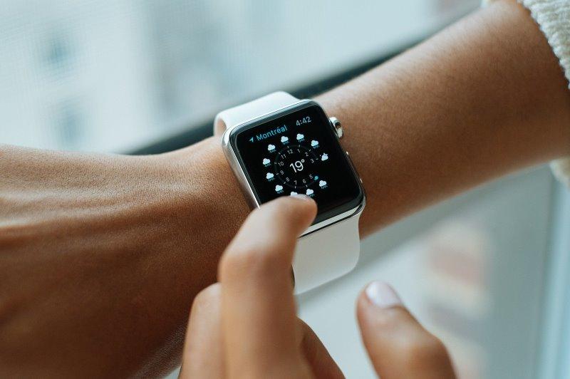 Pulsuhr ohne Brustgurt Smartwatch mit Wetteranzeige