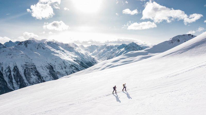 Sicherheit im Wintersport, auch wenn Du den Berg hochläufst.