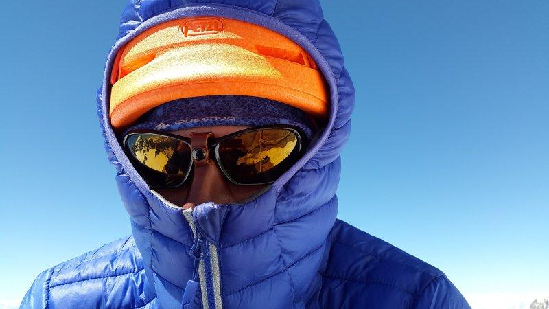 Sportsonnenbrille bzw. Gletscherbrille