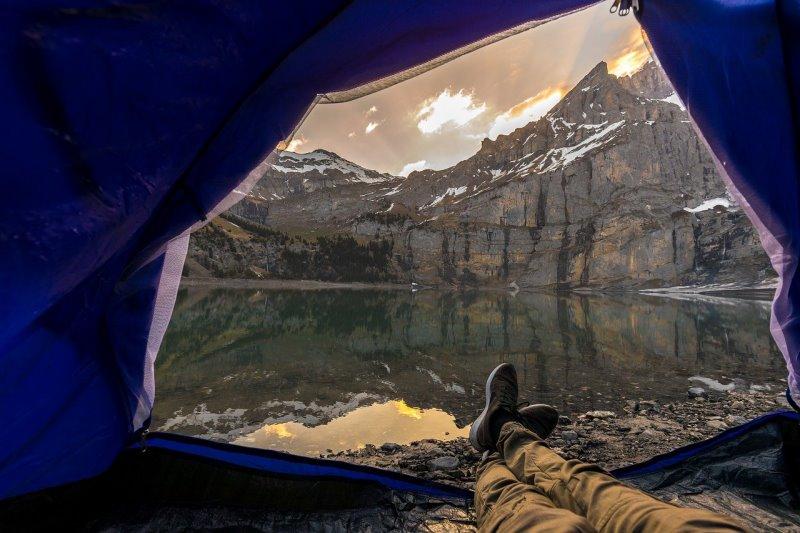 Zelt mit einer 5000 mm Wassersäule