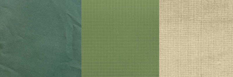 Polyester, Nylon und Baumwolle drei Zeltmaterialien
