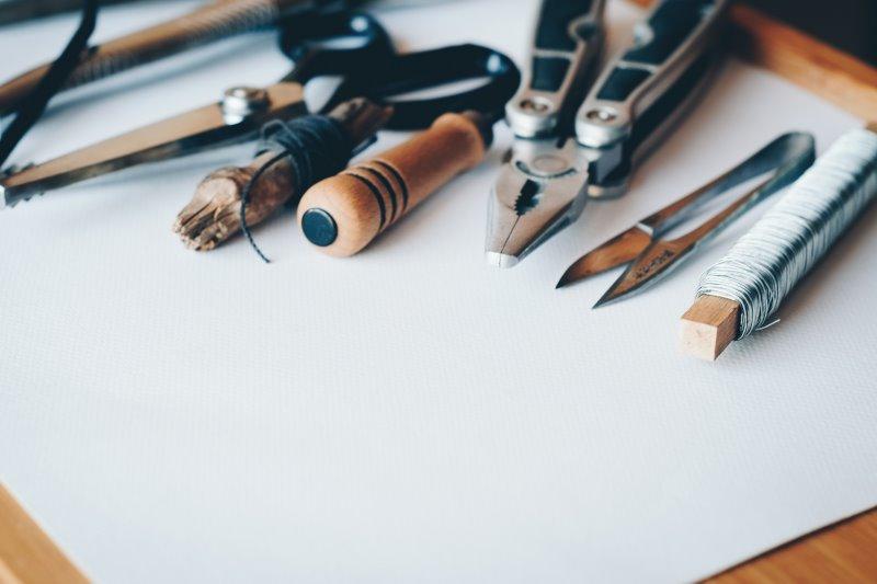 Werkzeug zum Basteln