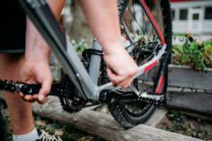 Mountainbike Pedal Test