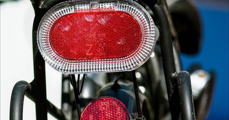 Fahrrad Rücklicht mit Reflektor