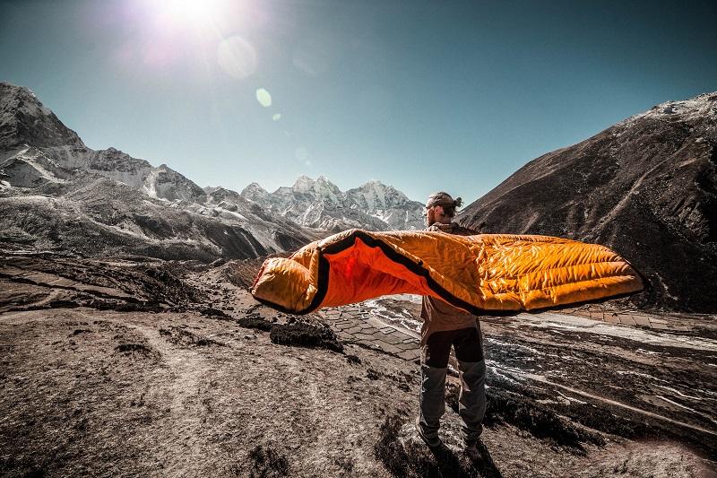 Trekking-Schlafsack Größe