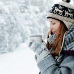 Tee im Winter
