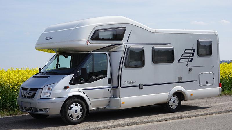 Camping mit einem Wohnmobil