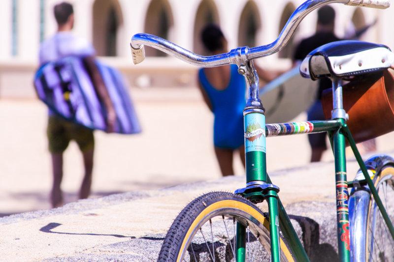 Fahrradsattelbezug mit Polsterung