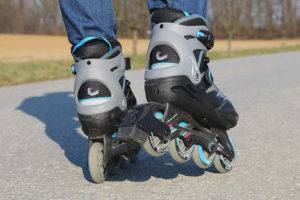 Freeskates close up