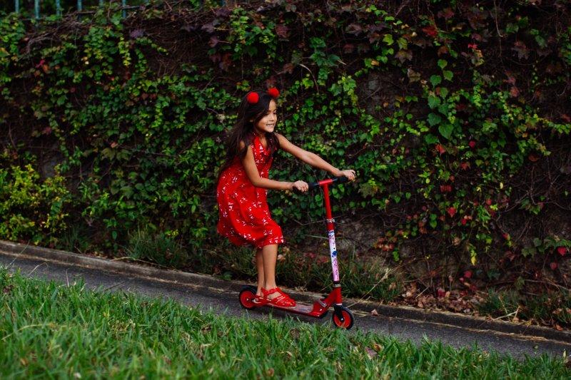 Kinderroller: Spaß beim Fahren
