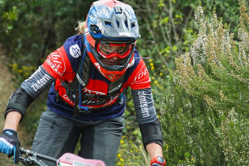 Zubehör eines Mountainbike-Helms