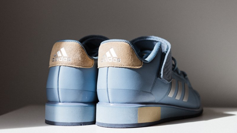 Powerlifting Schuhe in der Farbe blau