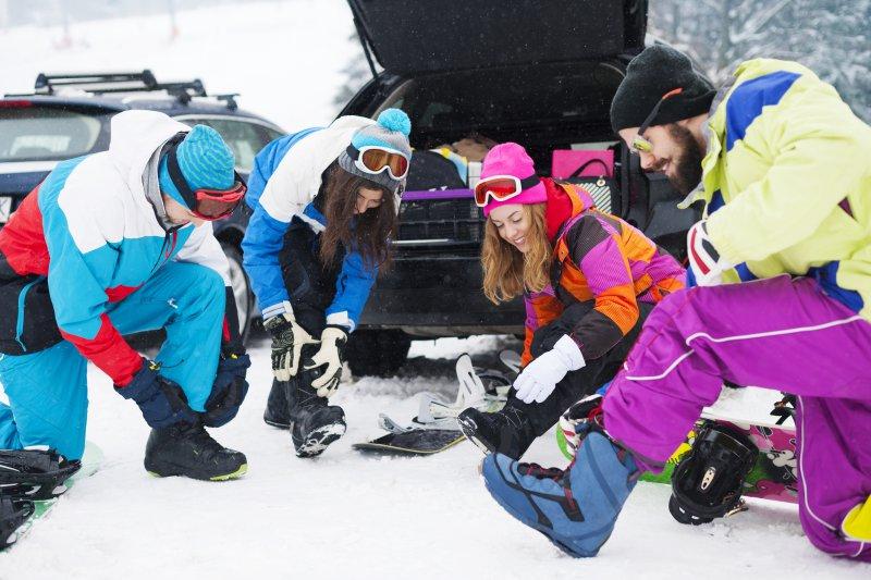 Skischuhtasche Ttansport im Auto