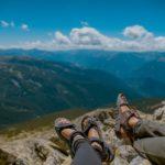 Wandern mit Trekkingsandalen