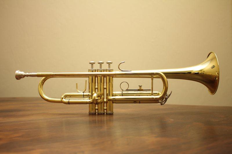 Trompete mit Perinetventilen
