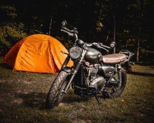 Zelt für Motorradtouren