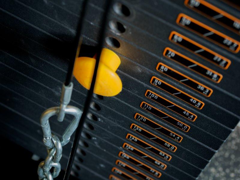 Feste Gewichte eines Trainingsgerätes