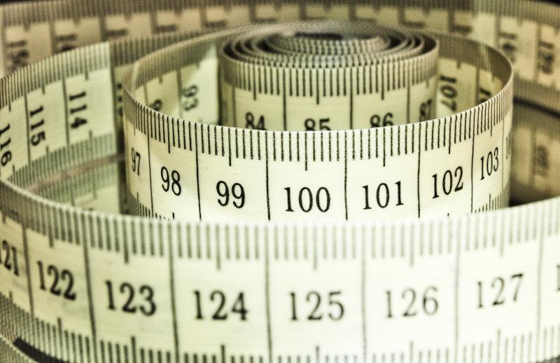 Maßband zum messen