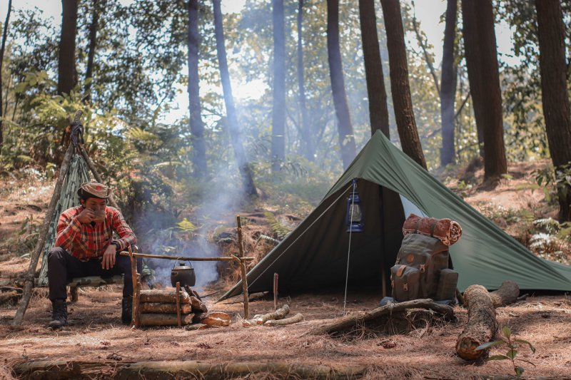 Trekkingplatz zum legalen wildcampen