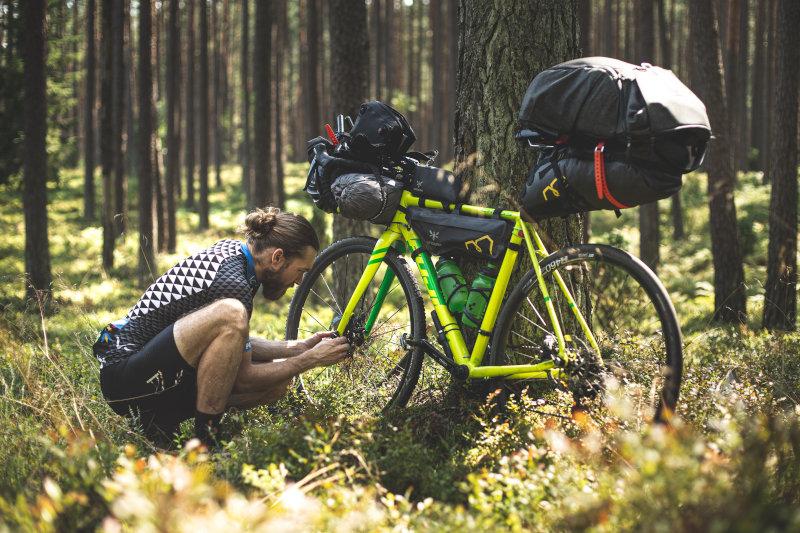 Bikepacking mit Fahrradtaschen