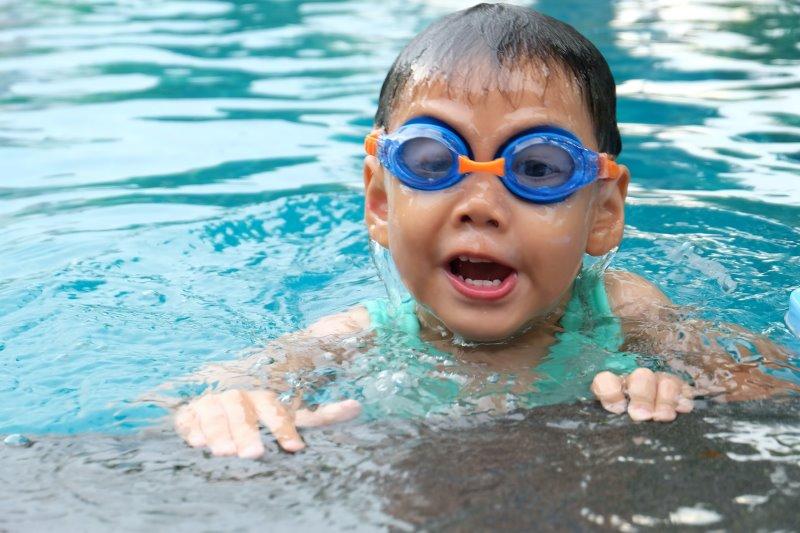 Schwimmuhr für Kinder