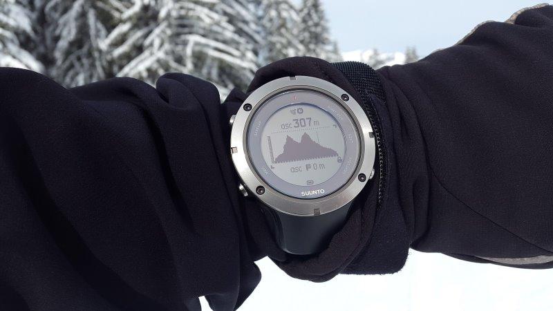 Auch Outdoor Uhren erweisen sich als praktisch