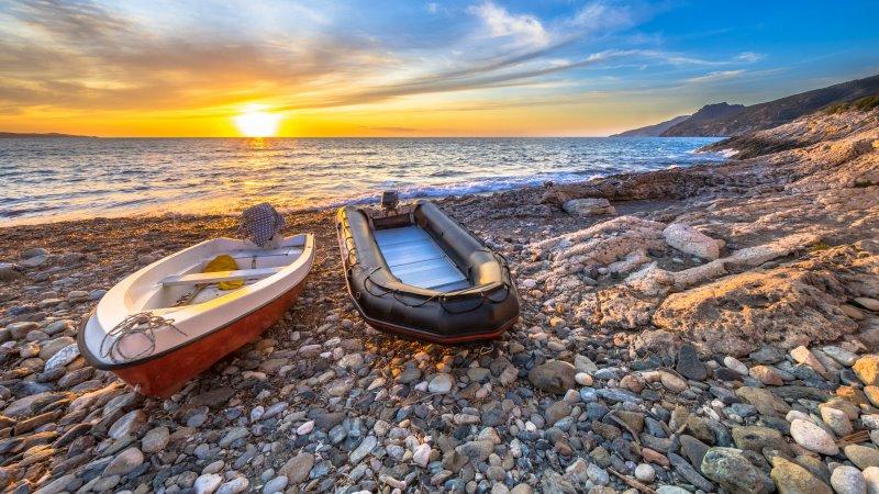 Schlauchboot oder Motorboot?