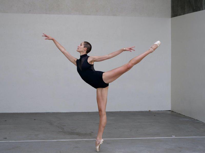 Tanz Performance zeigt Koordinationsvermögen