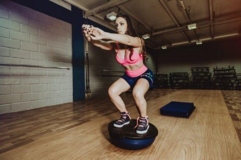 Der Balance Ball in der Anwendung
